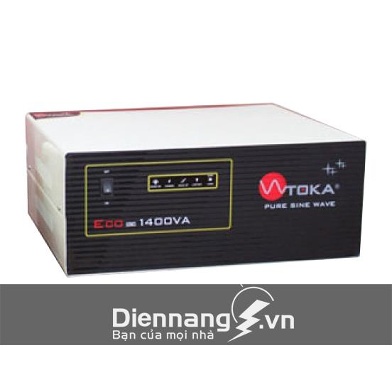 Máy đổi điện - inverter - máy kích điện Toka 1400VA - 24V