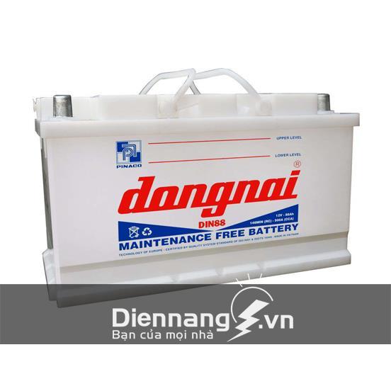 Ắc quy Đồng Nai DIN88 (12V - 88Ah)