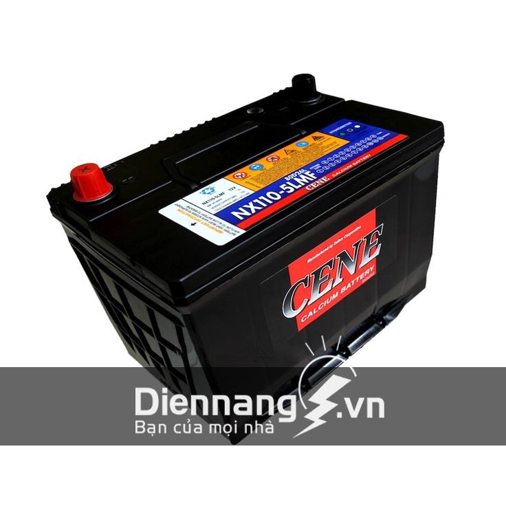Ắc quy CENE NX110-5R/L-MF (12V - 75Ah)