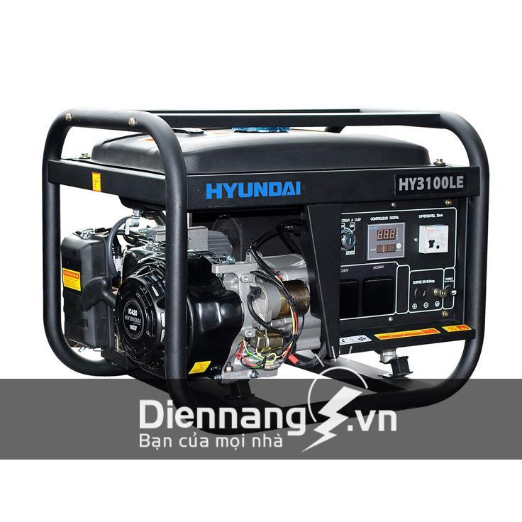 Máy phát điện Huyndai dân dụng - chạy xăng HY3100LE (2.5-2.8KW)
