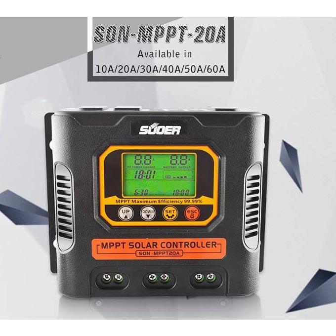 Sạc điều chỉnh NLMT SON - MPPT - 20A