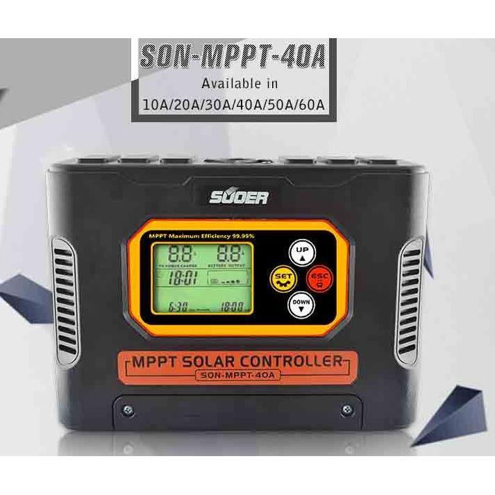 Sạc điều chỉnh NLMT SON - MPPT - 40A