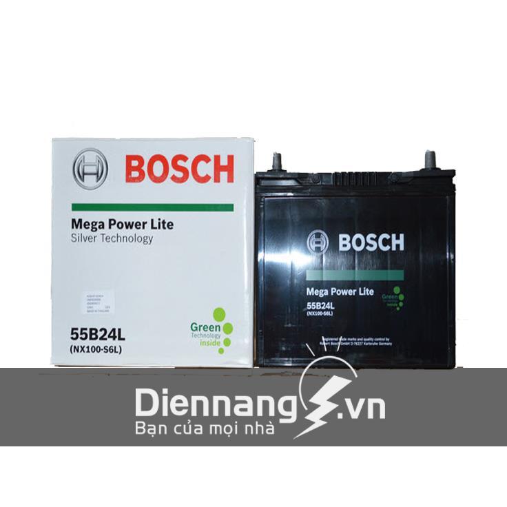 Ắc quy khô Bosch 55B24LS/NS60L (12V - 52Ah)