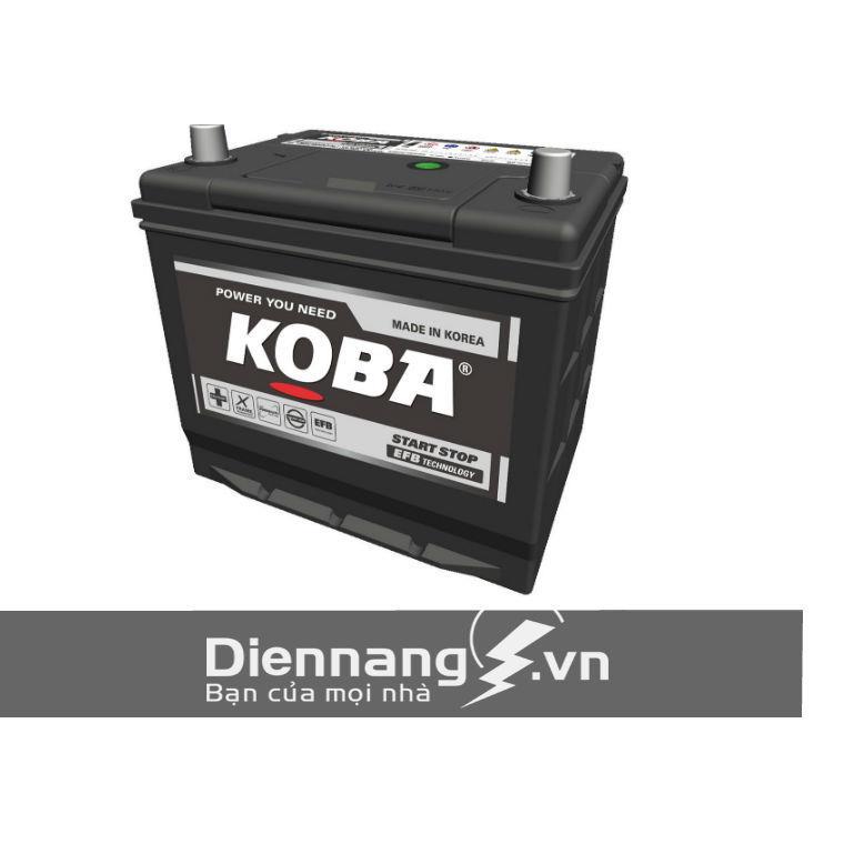 Ắc quy cho xe MAZDA (Idle – Stop ) KOBA  90D23L (12V - 65Ah)