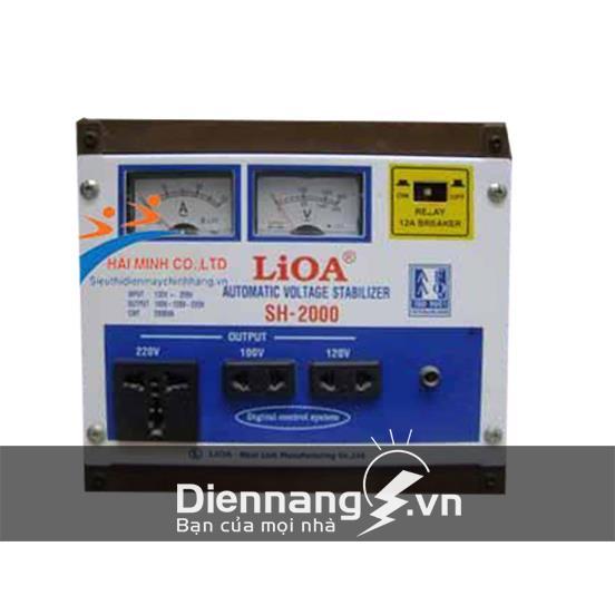 Ổn áp Lioa 1 pha SH 2KVA (150V - 250V)