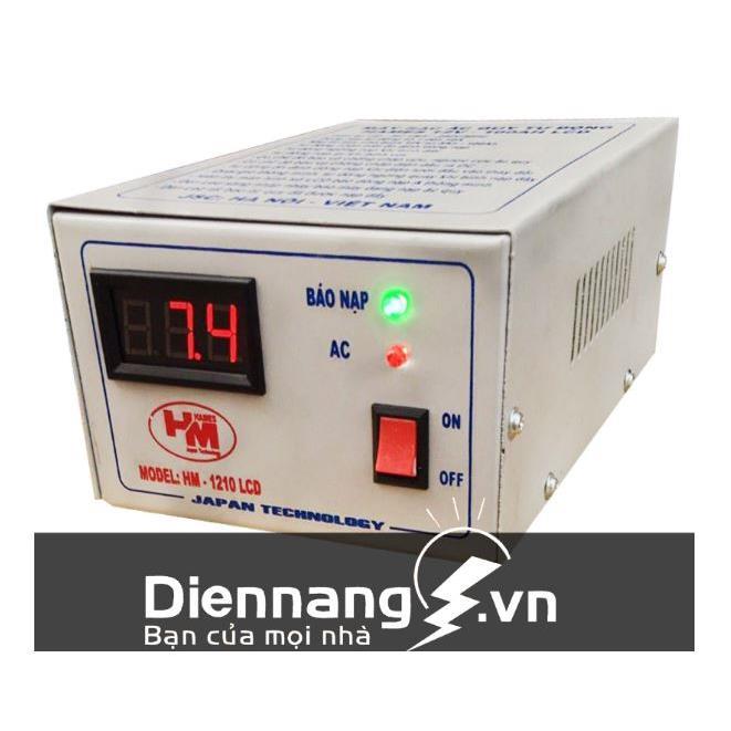 Máy sạc ắc quy tự động Hames LCD (24V - 100Ah)