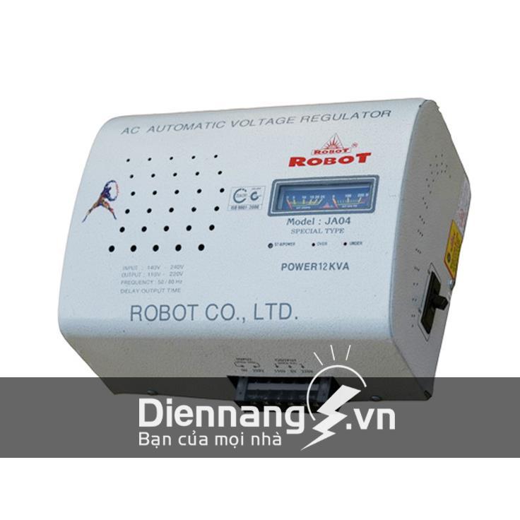Ổn áp Robot 1 pha Treo tường 8KVA dải 90 - 250V