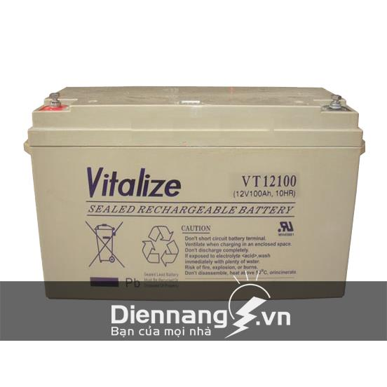 Ắc Quy Vitalize GEL VGS12200 (12V - 200Ah)