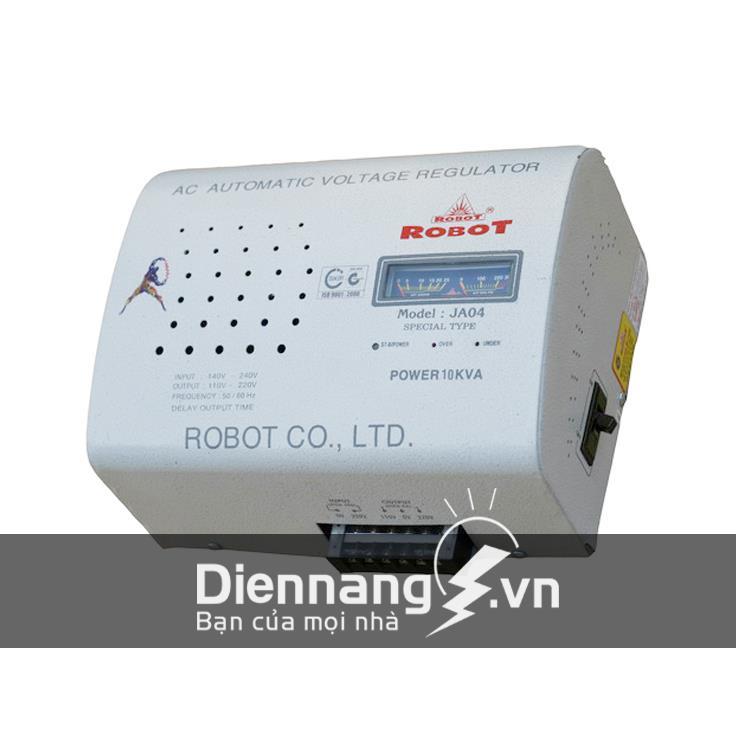 Ổn áp Robot 1 pha Treo tường 10KVA dải 90 - 250V