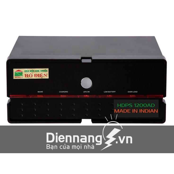 Máy đổi điện - inverter - máy kích điện HỒ ĐIỆN 1200A - 12V HDPS - 1200AD