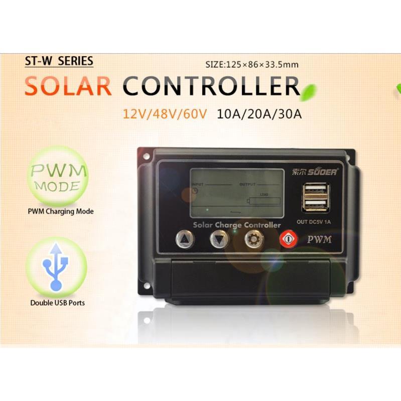 Bộ điều khiển sạc NLMT Souer ST - W4830