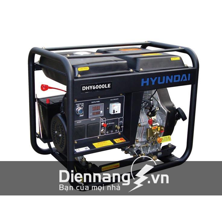 Máy Phát Điện Hyundai DHY6000LE (5KW - 5.5KW)