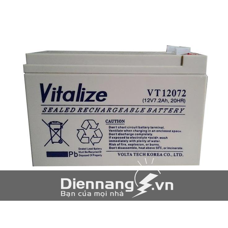 Ắc Quy VITALIZE VT12072 (12V - 7.2Ah)