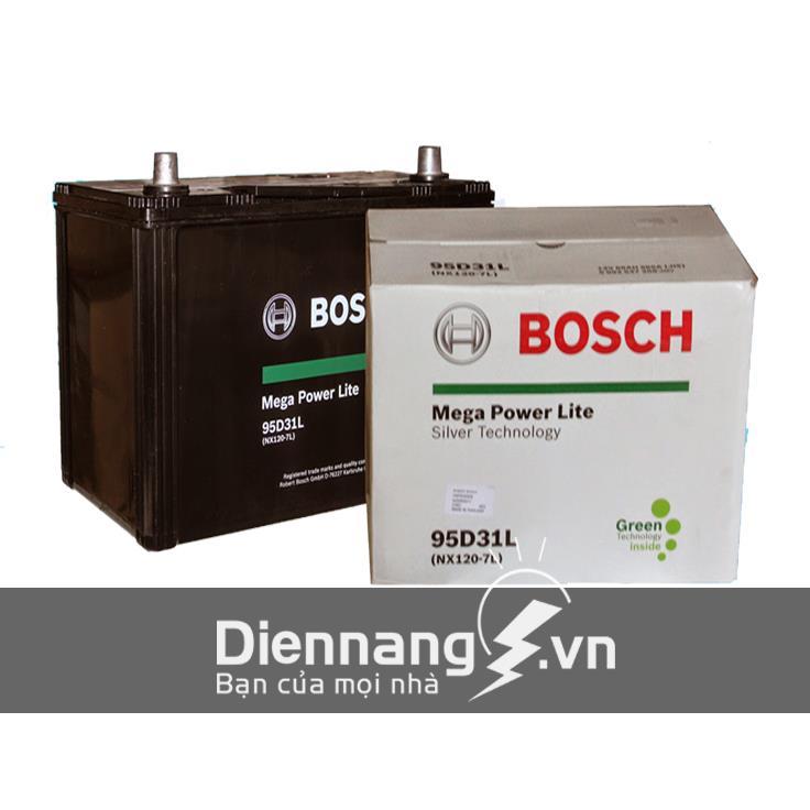 Ắc quy khô Bosch 95D31R/L - NX120-7 (12V - 80Ah)