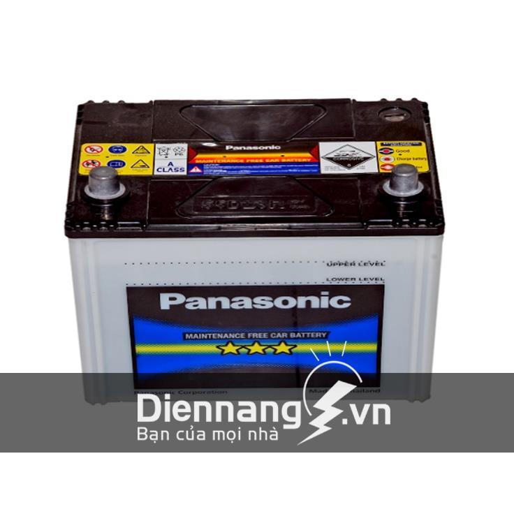 Ắc quy Panasonic khô 75D23R/L (12V - 65Ah)