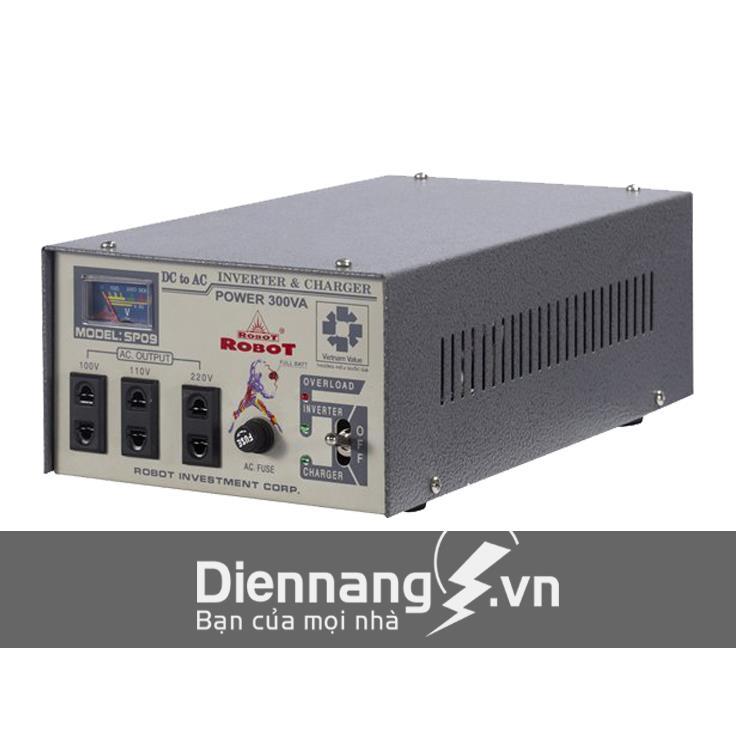 Máy kích điện - máy đổi điện - inverter ROBOT 300VA - 24V (Dùng cho Ôtô)