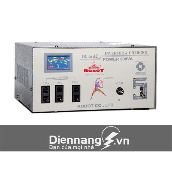 Máy kích điện - máy đổi điện - inverter ROBOT 500VA - 24V ( Dùng cho Ôtô)
