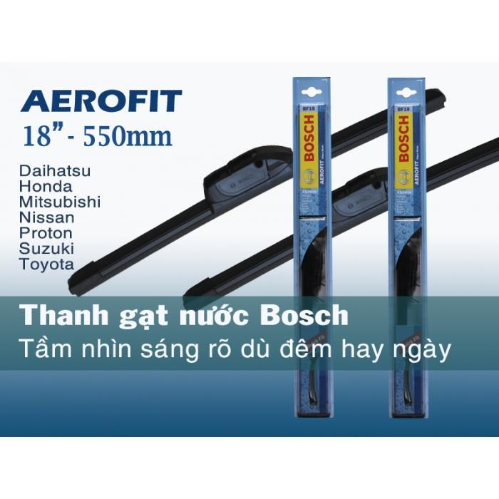 Thanh gạt nước Bosch không xương Aerofit