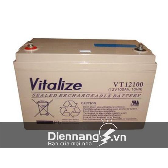 Ắc Quy VITALIZE VT12100 (12V - 100Ah)