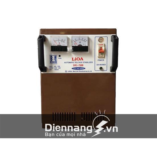 Ổn áp Lioa 1 pha DRII 7,5KVA (50V - 250V)