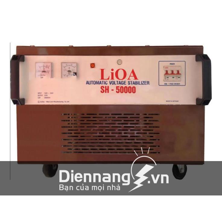 Ổn áp Lioa 1 pha SH 50KVA (150V - 250V)