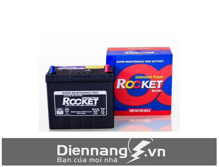 Ắc quy Rocket SMF NX100-S6S/L (12V - 45Ah)_cọc to