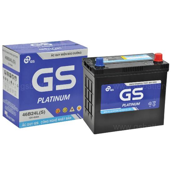 Ắc quy GS 46B24L(S) (12V - 45Ah)