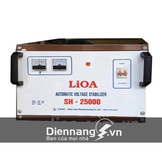 Ổn áp Lioa 1 pha SH 25KVA (150V - 250V)