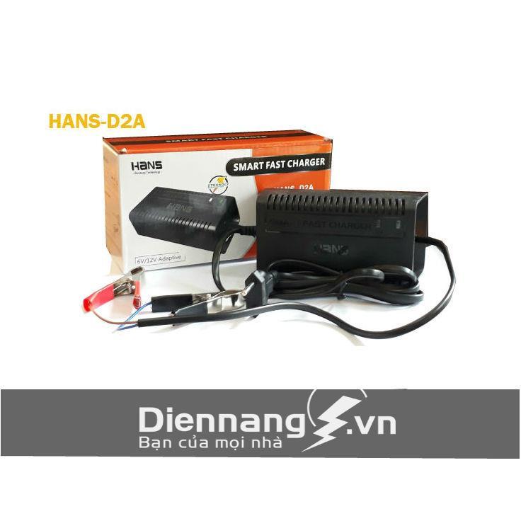 Sạc tự động Hans D2A (6V - 12V)