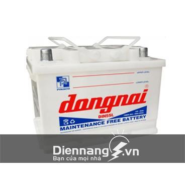 Ắc quy Đồng Nai DIN55 (12V - 55Ah)