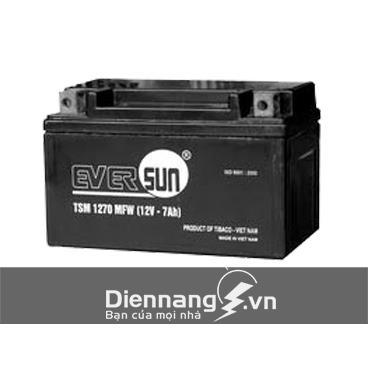 Ắc quy xe máy Eversun TSM1270MFW (12V - 7Ah)