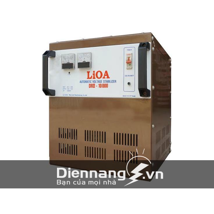 Ổn áp Lioa 1 pha DRII 10KVA (50V - 250V)