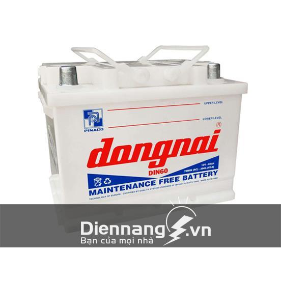 Ắc quy Đồng Nai DIN60 (12V - 60Ah)