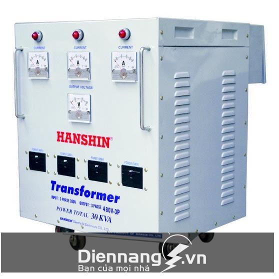 Máy biến áp Hanshin 3P 50KVA Dây Đồng