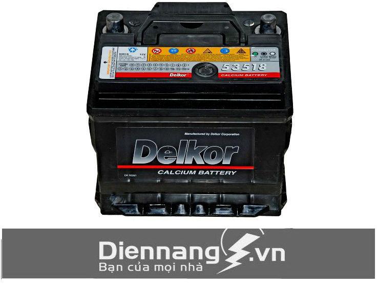 Ắc Quy Delkor Din 53518 (12V – 35Ah)