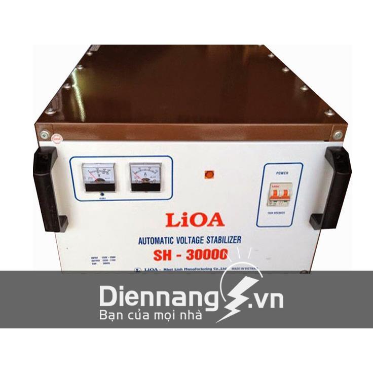 Ổn áp Lioa 1 pha SH 30KVA (150V - 250V)