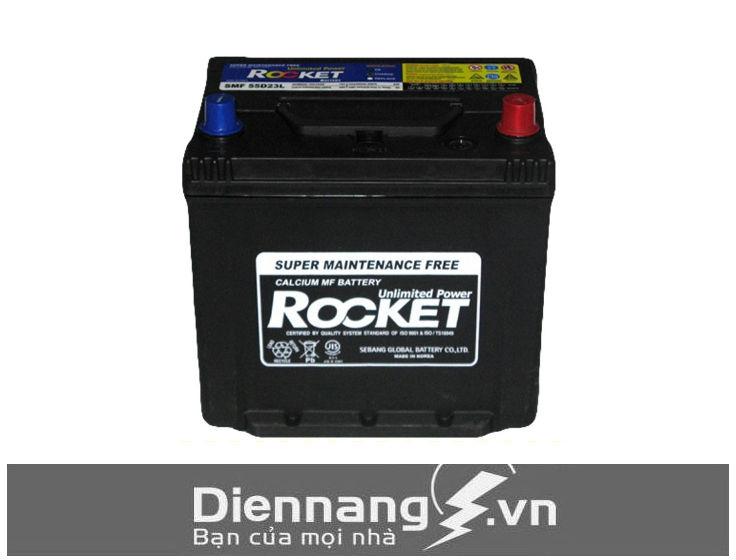 Ắc quy Rocket SMF 55D23L/R (12V - 60Ah)