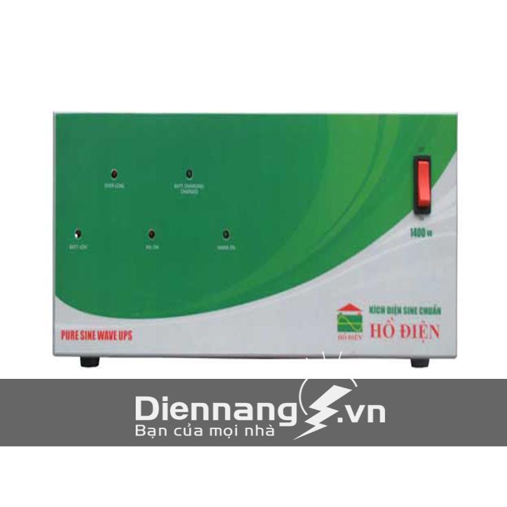 Máy đổi điện - inverter - máy kích điện HỒ ĐIỆN 1400A - 24V HDPS - 1400AD