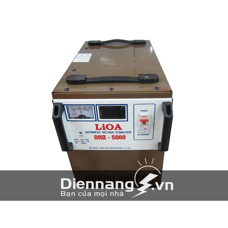 Ổn áp Lioa 1 pha DRII 5KVA (50V - 250V)