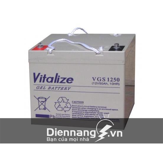 Ắc Quy VITALIZE GEL VGS1250 (12V - 50Ah)