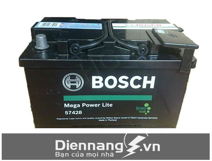 Ắc quy khô Bosch Din 57428 (12V-74Ah)