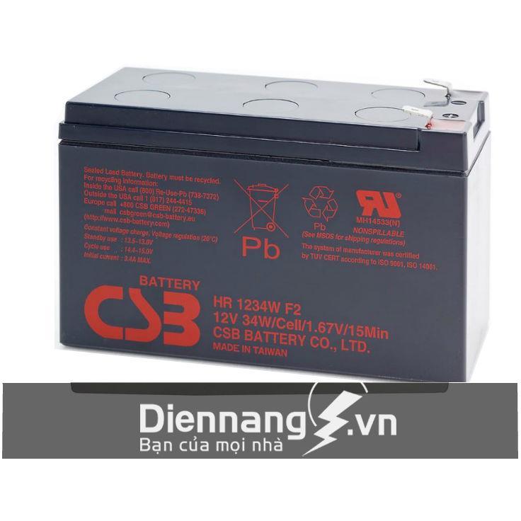 Ắc quy CSB HR1234W (12V - 9Ah)