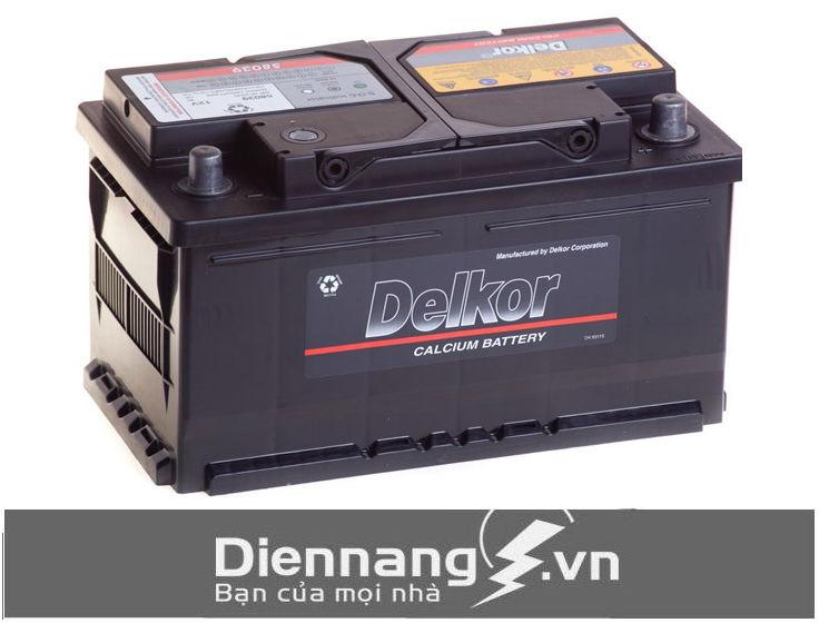Ắc Quy Delkor Din 58039 (12V – 80Ah)