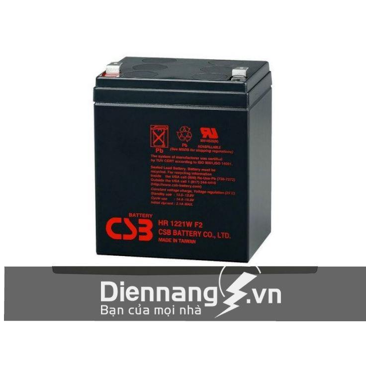 Ắc quy CSB HR1221W (12V - 5Ah)