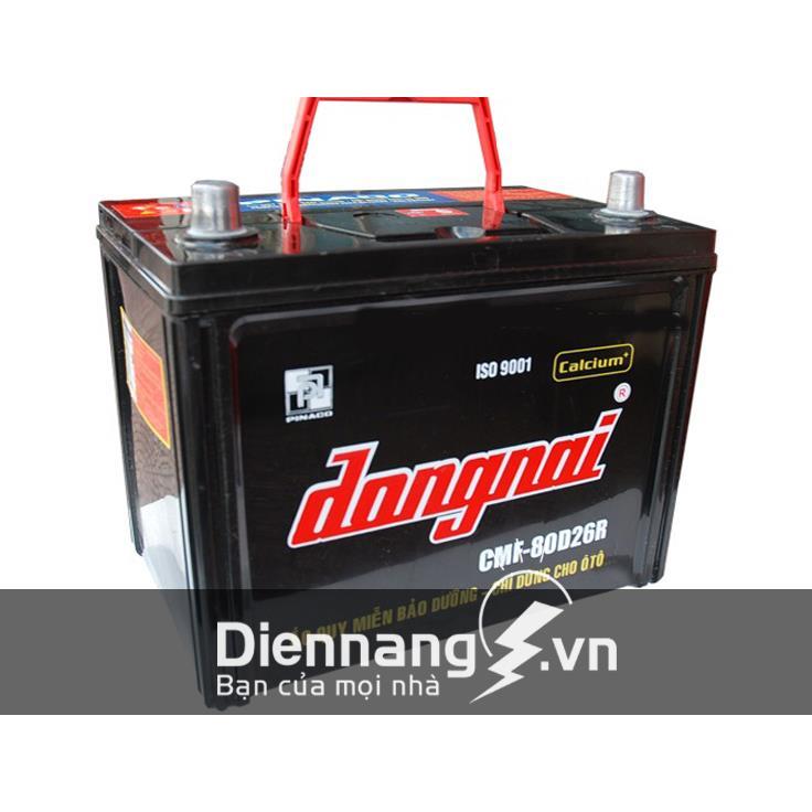 Ắc quy khô Đồng Nai CMF 80D26 (12V - 70Ah)