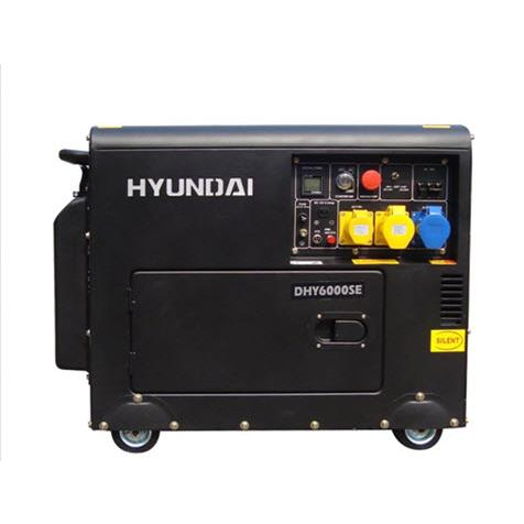 Máy Phát Điện Hyundai DHY6000SE (5KW - 5.5KW)