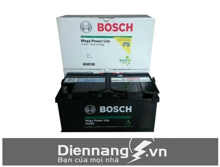 Ắc quy khô Bosch Din 60038 (12V - 100Ah) cọc thụt