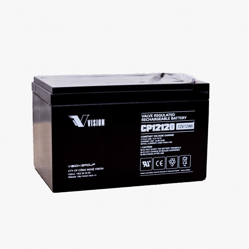 Ắc Quy xe đạp điện Vision CP12120 (12V - 12Ah)