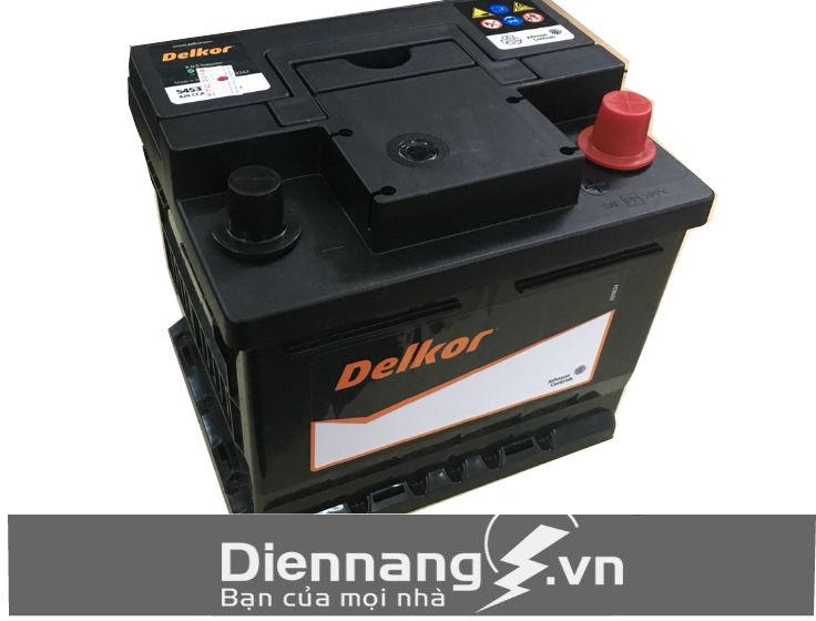 Ắc quy Delkor Din 54533 (12V - 45Ah)