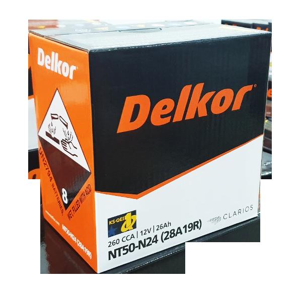 DELKOR NT50-N24 (12V - 26Ah)  - Ắc quy Phòng cháy chữa cháy (PCCC)